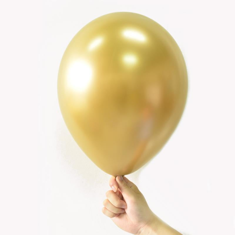 Yellow Metal color Latex Balloon - Sunbeauty