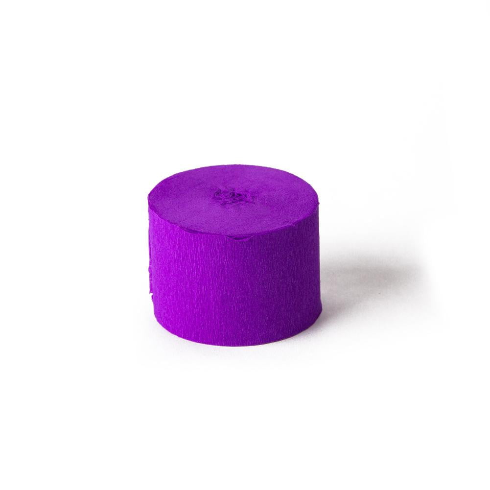 Purple Crepe Paper Roll - Sunbeauty
