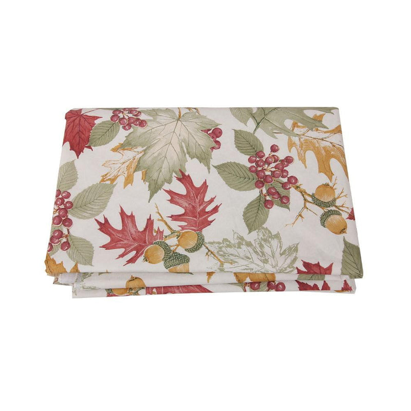 Thanksgiving Day Leaves Table Cloth - Sunbeauty