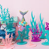 Under The Sea Mermaid Party Felt Centerpiece-Seahorse - Sunbeauty