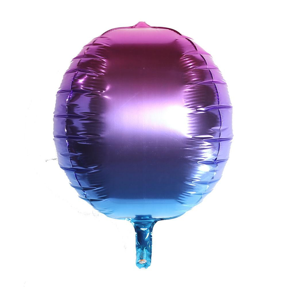 Gradient 4D Foil balloon(Purple) - Sunbeauty