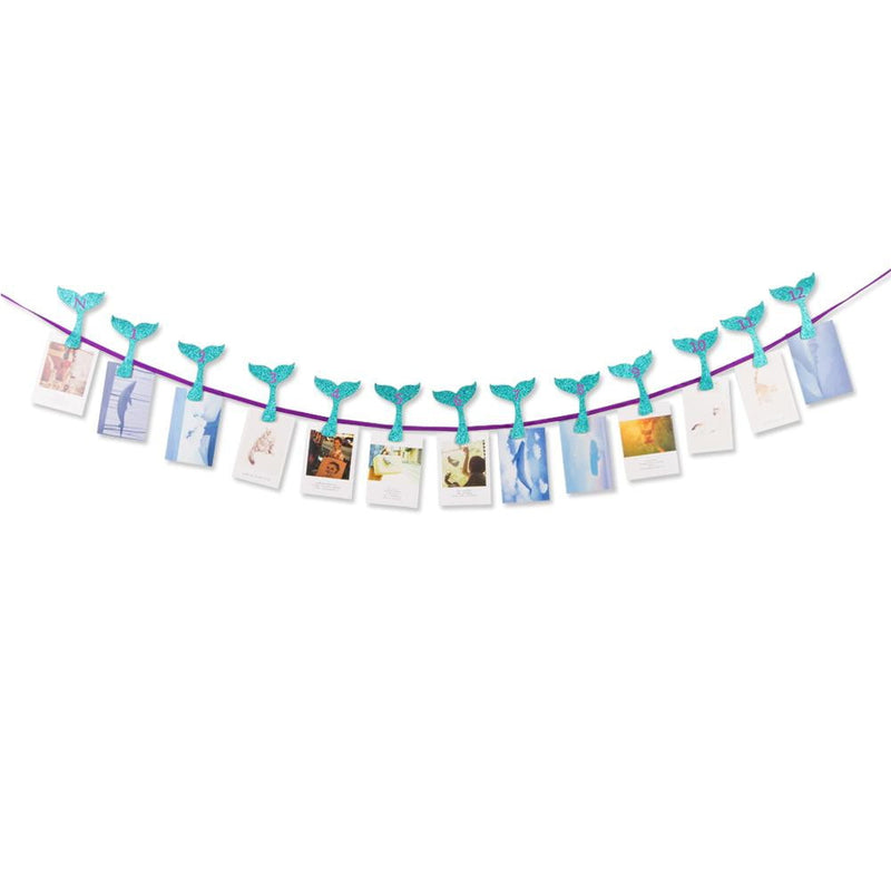 Mermaid DIY Photo Banner - cnsunbeauty