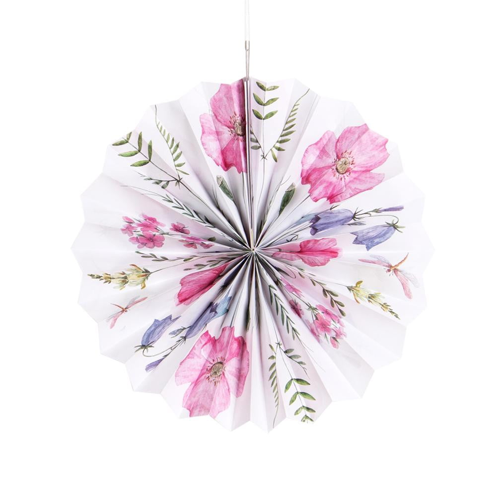 Tea Party Pinwheel/Paper Fan - Sunbeauty