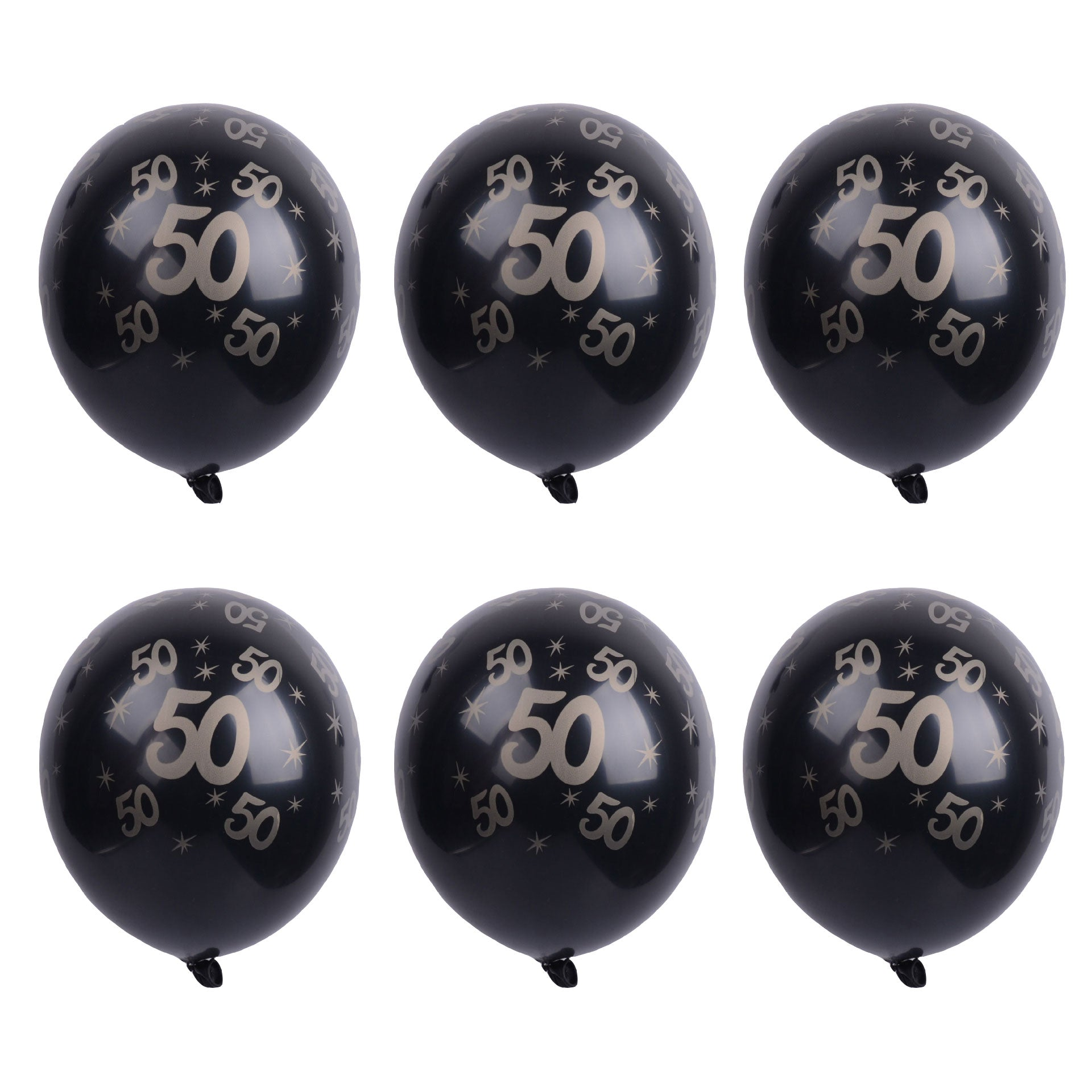 30/50th Birthday Decorations Printed Latex Balloons-50Pcs Free Shipping - Sunbeauty