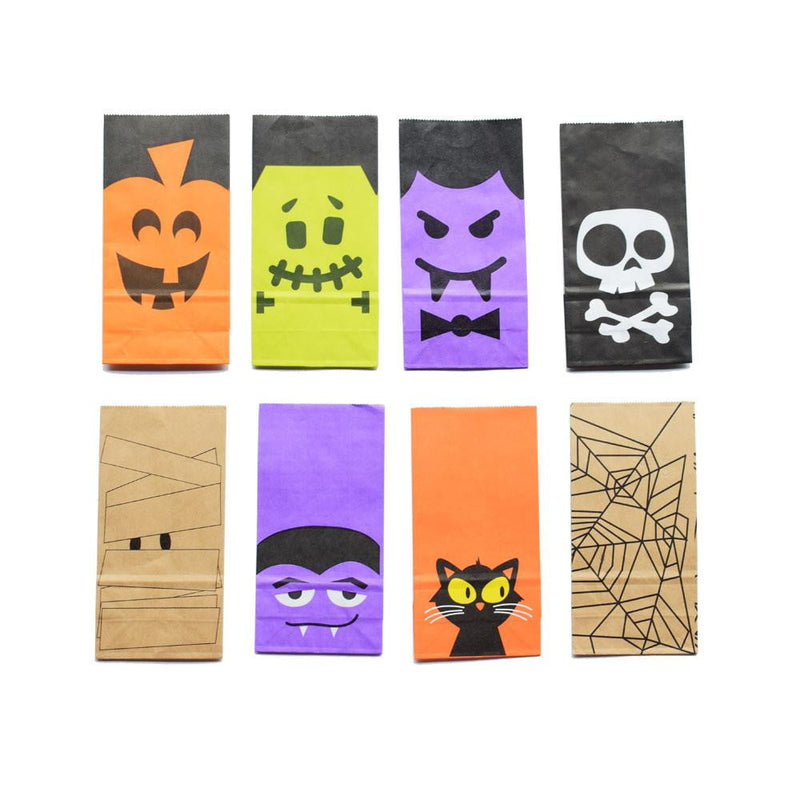 Halloween Candy Wrapping Paper Bags(6Pcs)