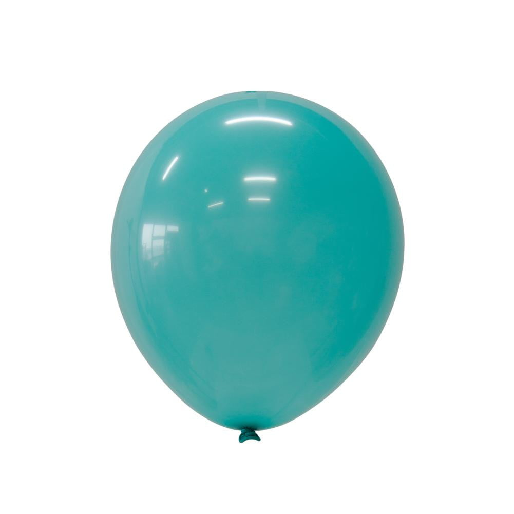 5Pcs Bluegreen Latex Balloon Kit - Sunbeauty