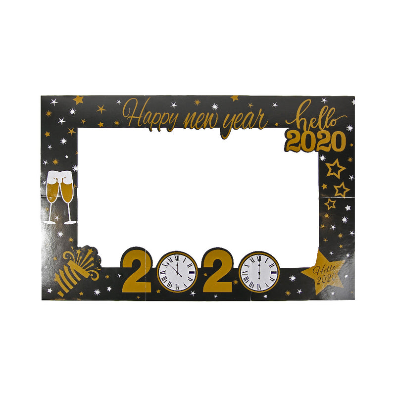 Happy New Year 2020: Eve Party Photo Booth Frame Props - Sunbeauty