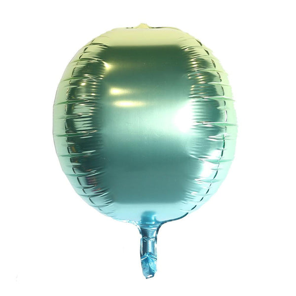 Gradient 4D Foil balloon(Green) - Sunbeauty