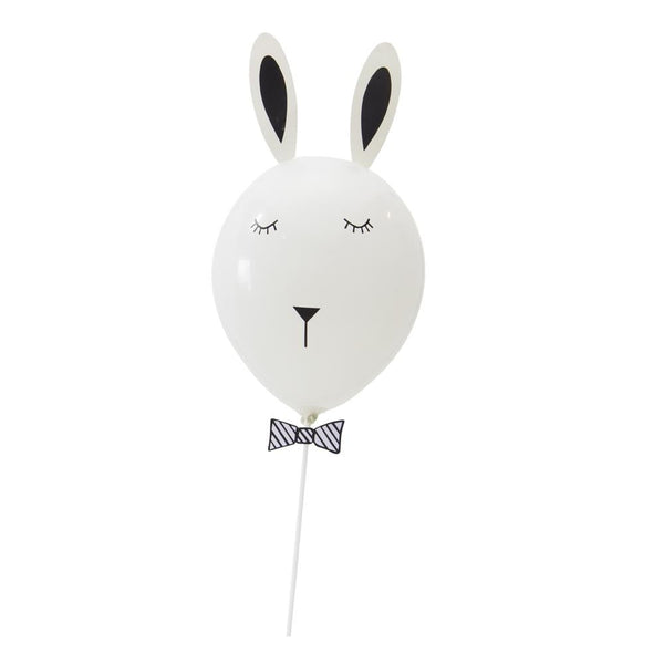 Easter Birthday White Bunny DIY Balloon(2Pcs) - Sunbeauty