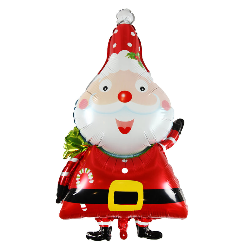 Christmas Decoration Santa Claus Foil Balloon - Sunbeauty