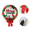 Merry Christmas Party Round Foil Balloon - Sunbeauty