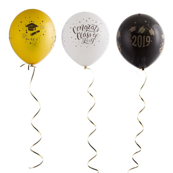 Graduation Latex Balloon Set(15Pcs) - Sunbeauty