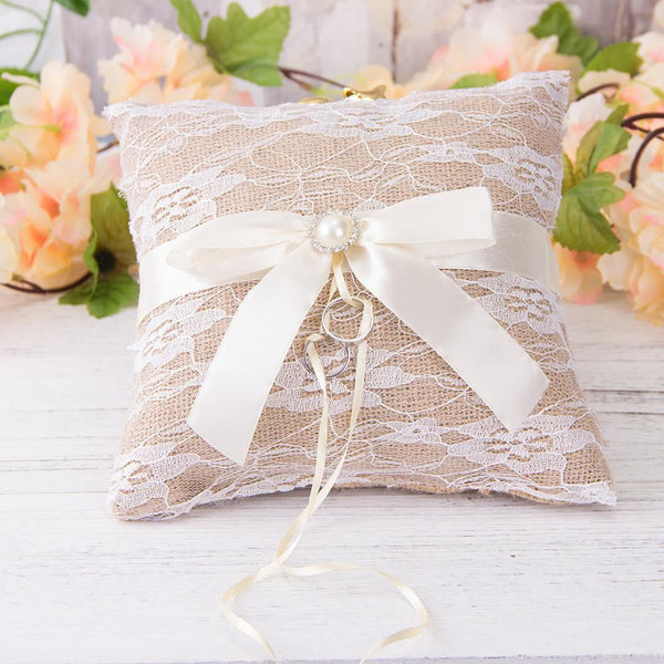 Ring Bearer Pillow - Sunbeauty