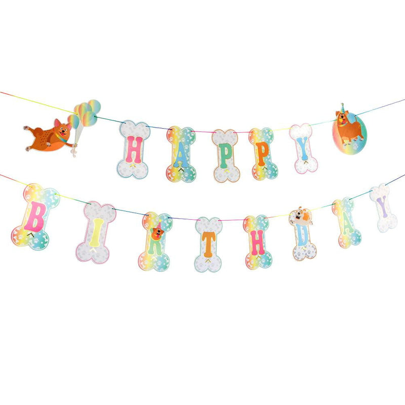 Dogs' Birthday Hanging Banner - Sunbeauty