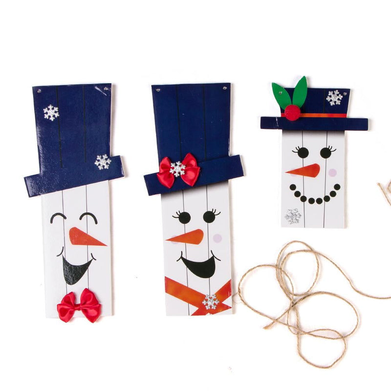 Christmas Snowman Expression Ornaments - cnsunbeauty