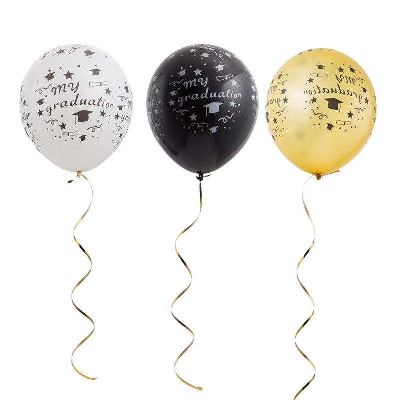 Graduation Latex Balloon Set(3Pcs) - cnsunbeauty