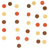 Circle Dots Hanging Decorations Paper Garland - Sunbeauty