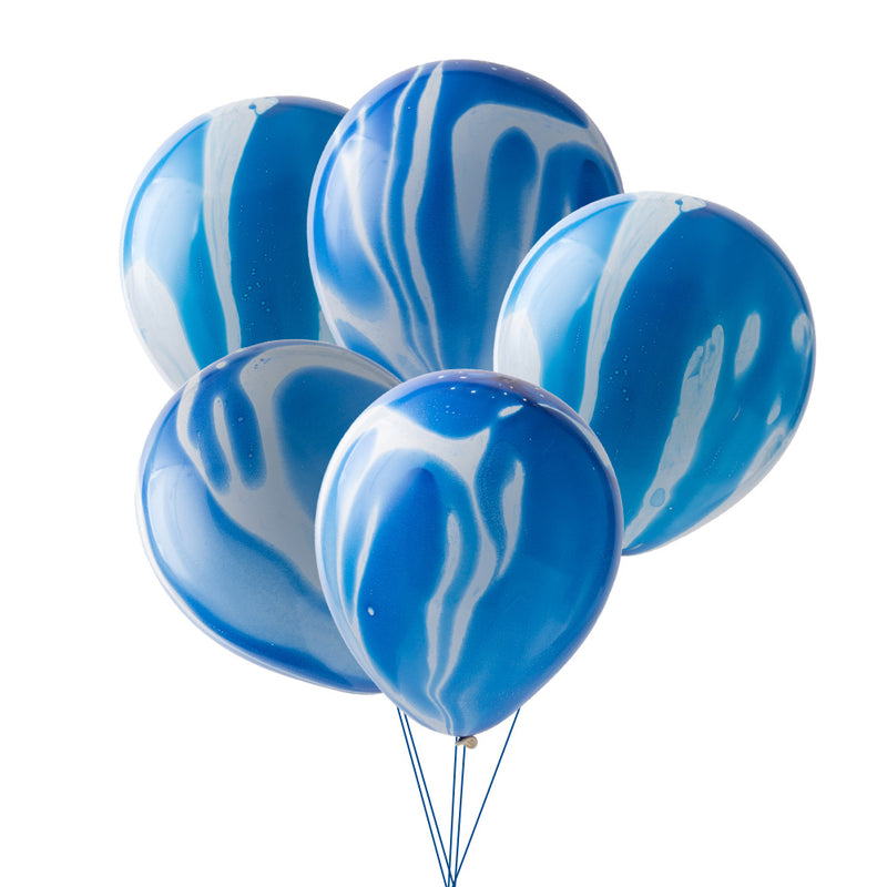 Blue agate Latex Balloon - Sunbeauty