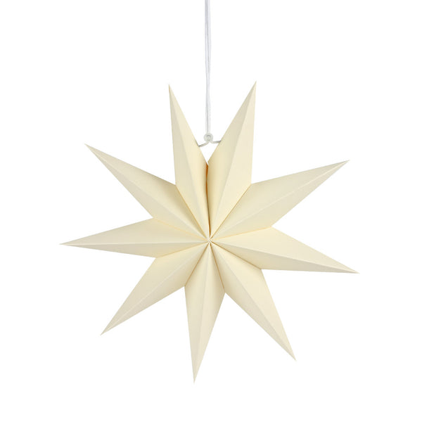 Muti-Color 9 Pointed Paper Star Lantern - Sunbeauty