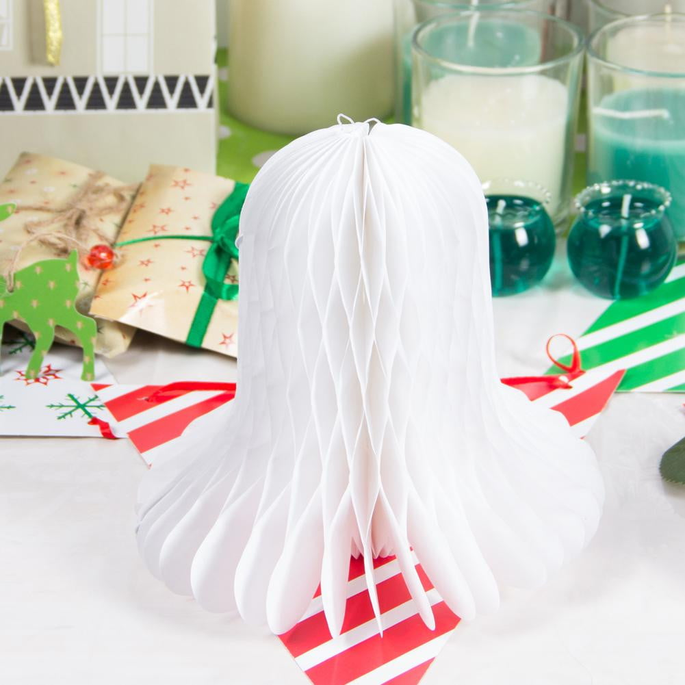 Christmas Bells Honeycomb Decoration - Sunbeauty