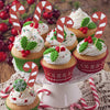 Crutch Stylish Christmas Cake Toppers - Sunbeauty