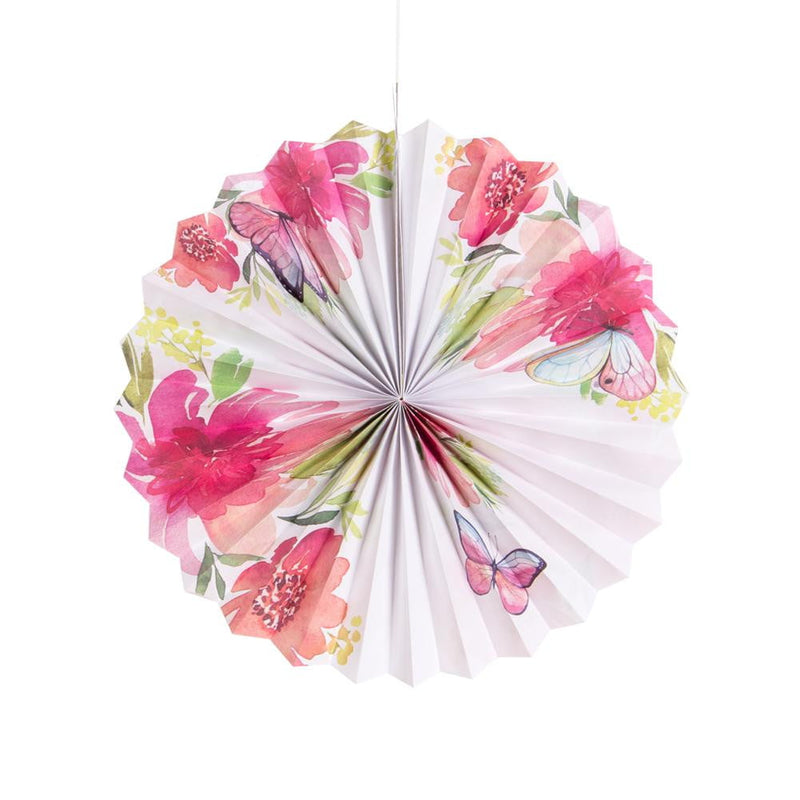 Tea Party Pinwheel/Paper Fan - cnsunbeauty
