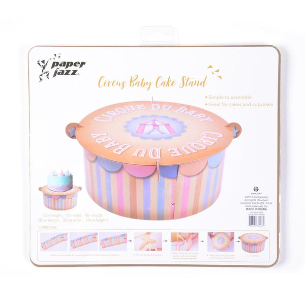 Circus Cup Cake Stand-50Pcs Free Shipping - Sunbeauty