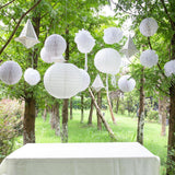 $10.99-FreeShipping-Diner en Blanc Garden Party White Decoration Set(13Pcs) - Sunbeauty