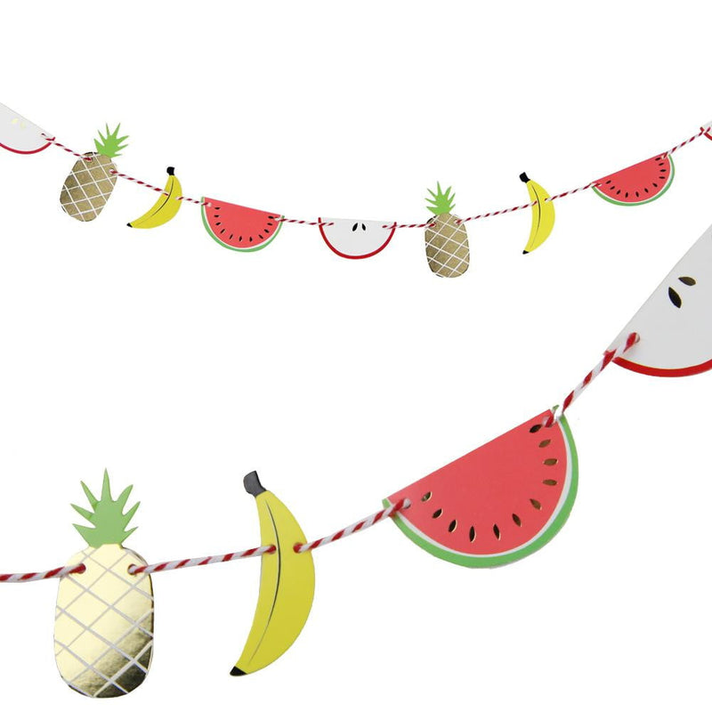 Mini Fruit Paper Garland - cnsunbeauty