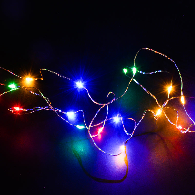 Garden Party Decorations LED Waterproof Copper String Lights-50Pcs Free Shipping - Sunbeauty