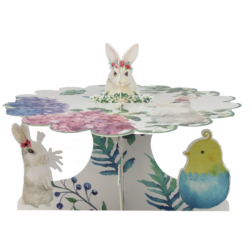 Easter Party Bunny&Eggs Cupcake Stand - Sunbeauty