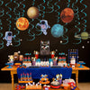 Outer Space Planets Hanging Swirl Decorations - Sunbeauty