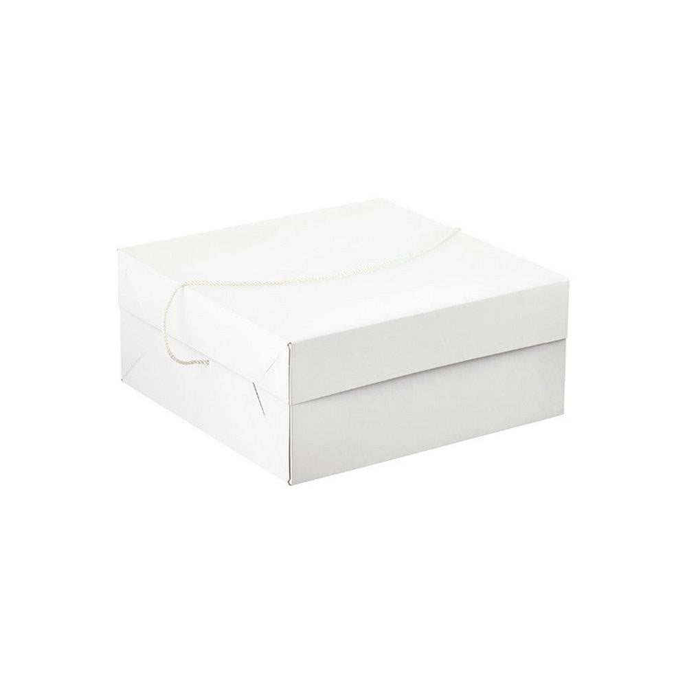 White gift box with lid - Sunbeauty