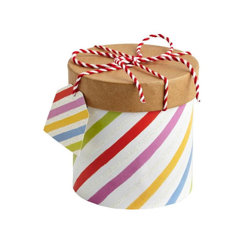 Colorful Pattern with Cover Gift Box - Sunbeauty