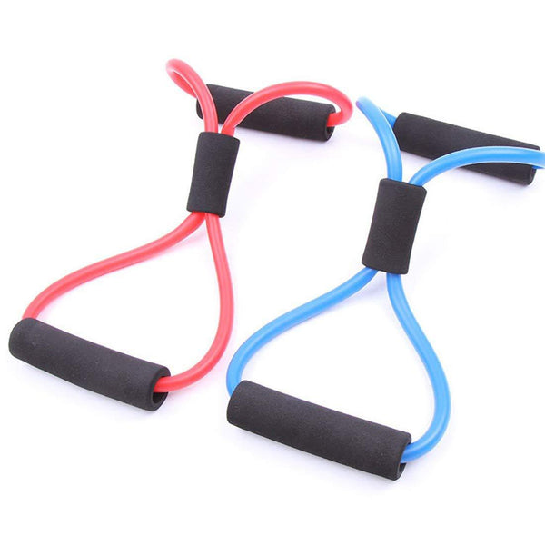 5 Pcs 8 word Fitness Pull-ups Expander-FreeShipping - Sunbeauty