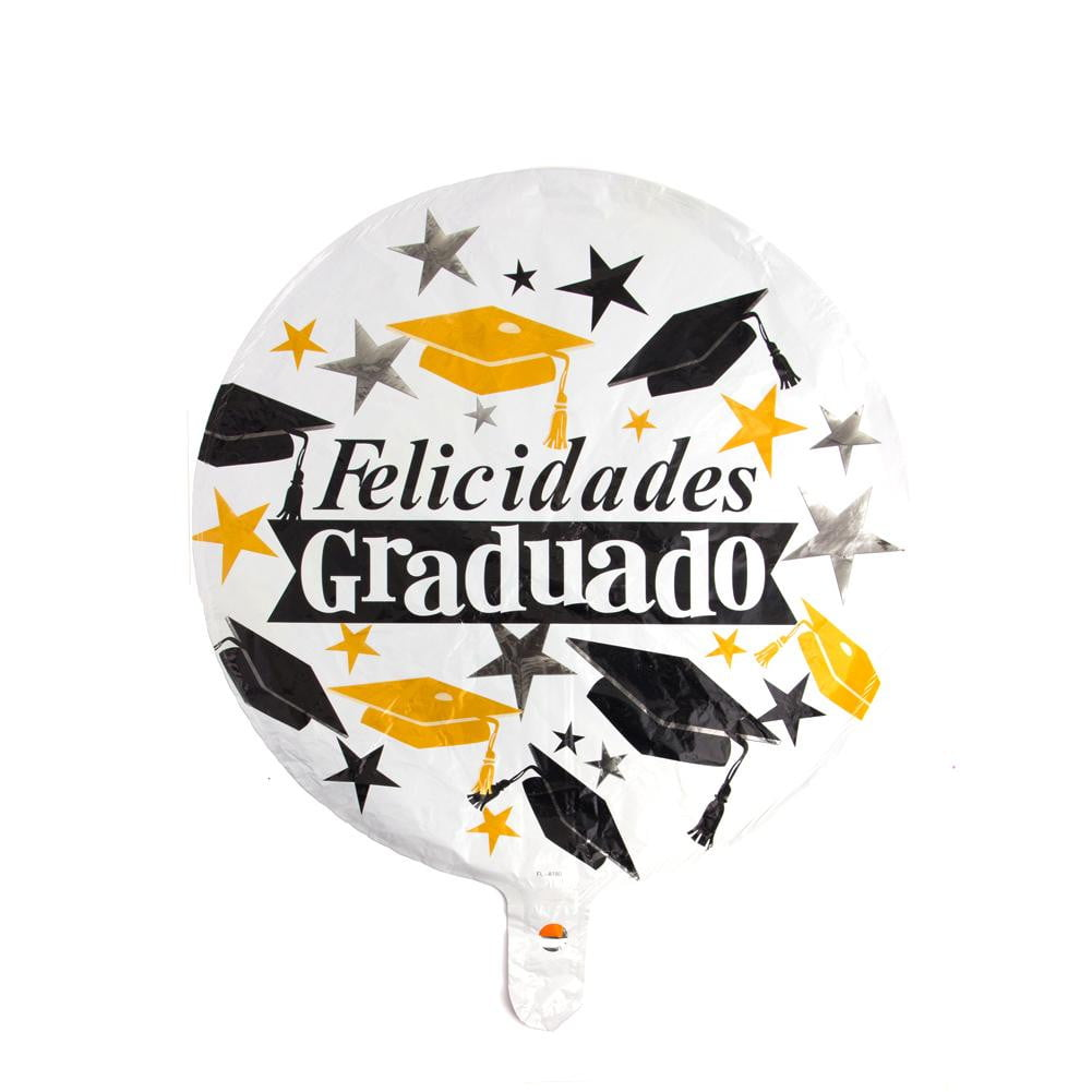 Spanish Graduation Foil Balloon(White) - Sunbeauty