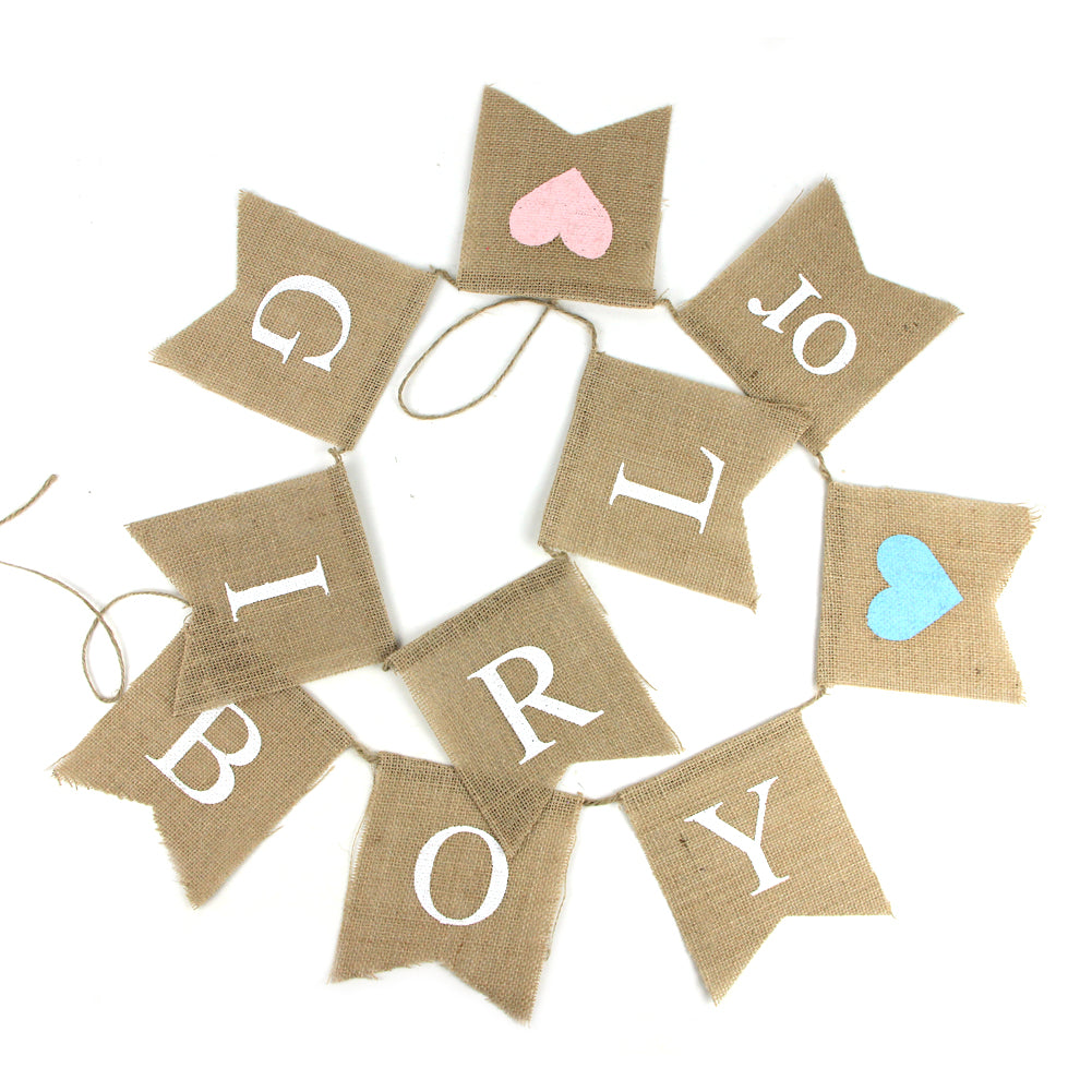 Gender Reveal Party Baby Shower Boy Or Girl Banner-50Pcs Free Shipping - Sunbeauty
