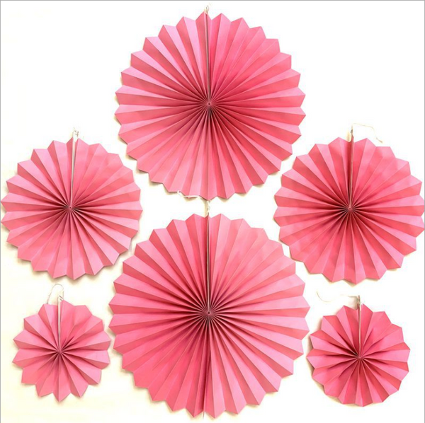 Party Decoration Birthday Wedding New Year Paper Folding Fan