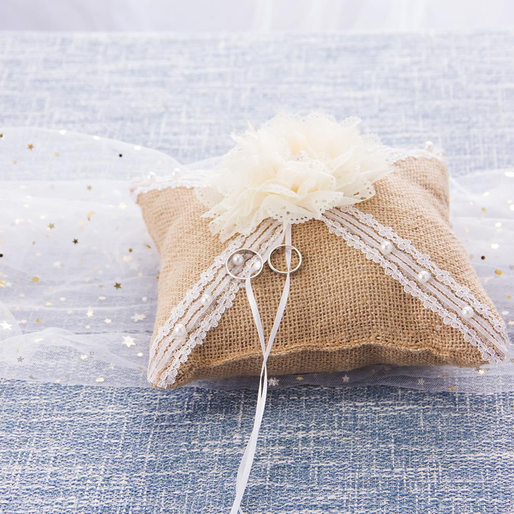 Wedding Ring Bearer Pillow - cnsunbeauty