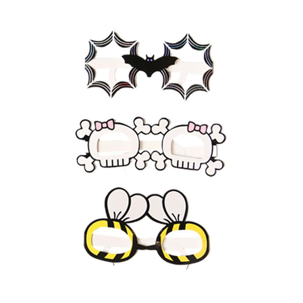 Halloween Glasses Decoration Photo Props - Sunbeauty