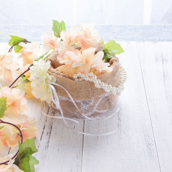 Wedding Flower Basket - Sunbeauty