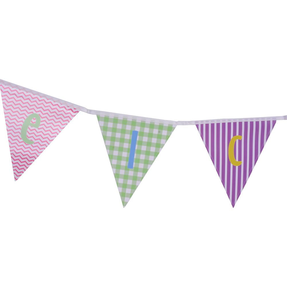 Welcome Pennant String Paper Banner