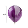 Purple agate Latex Balloon - Sunbeauty
