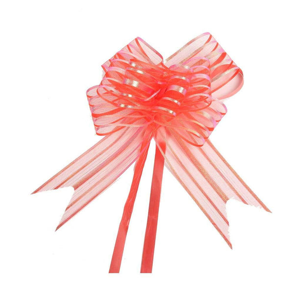 Shimmer Organza Pull Bows - Sunbeauty