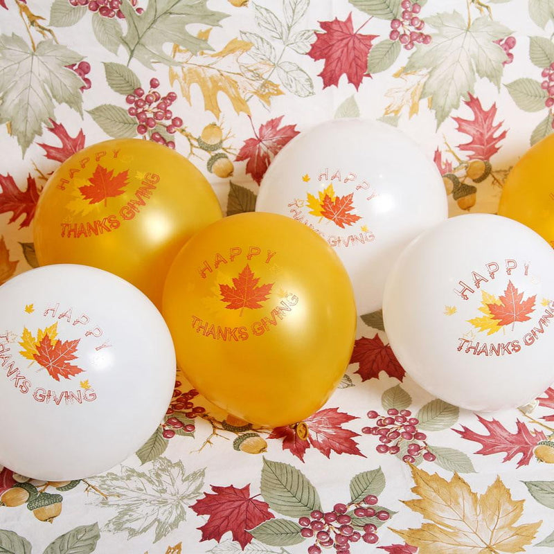 Thanksgiving Day 12 inch Latex Balloon(10Pcs)