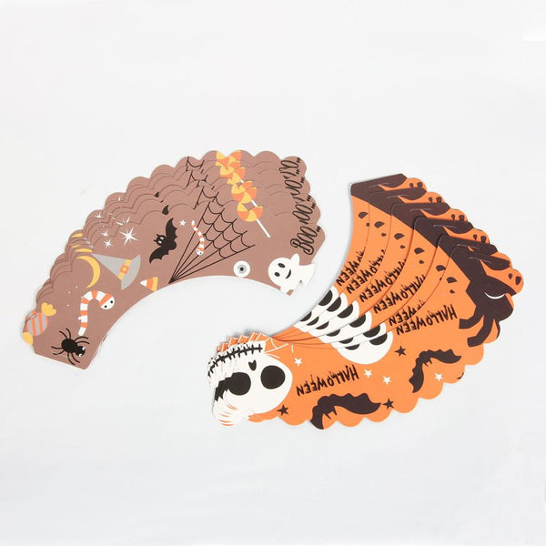 Halloween Cupcake Liners & Topper Decoration Kit - Sunbeauty
