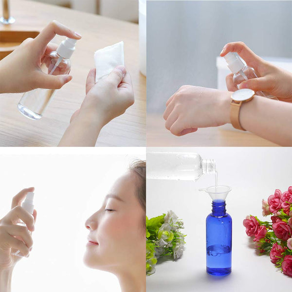 Travel Liquid Container 100Ml Spray Bottle Plastic Bottle Pump - Sunbeauty