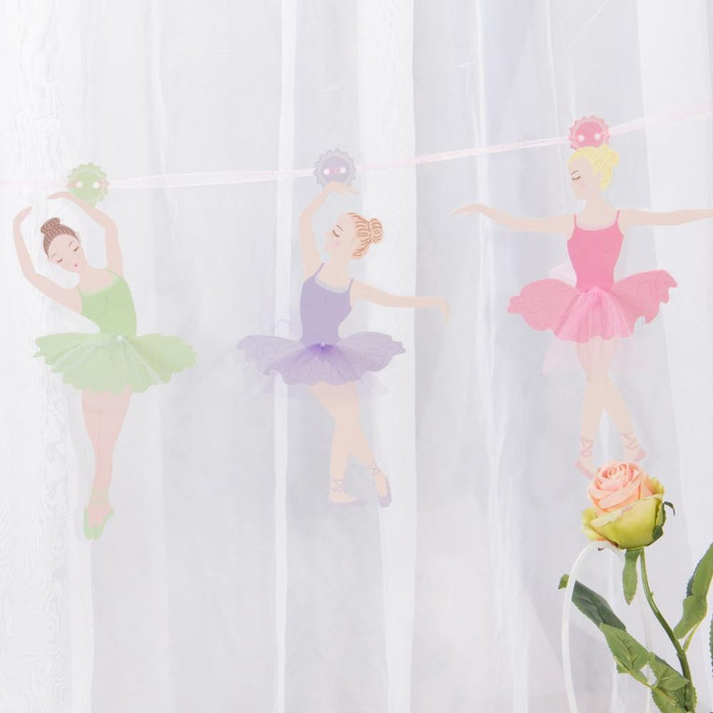 Ballet Girls Birthday Party Garland - cnsunbeauty