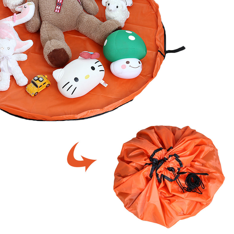 FreeShipping-Portable Baby Play Mat Toys Storage Bag - cnsunbeauty