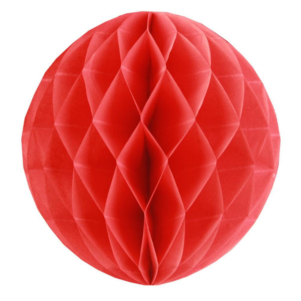 Red Honeycomb Ball - cnsunbeauty